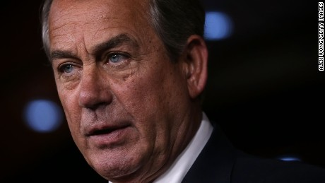 U.S. Speaker of the House Rep. John Boehner (R-OH) speaks to members of the media during his weekly news conference July 16, 2015 on Capitol Hill in Washington, D.C.