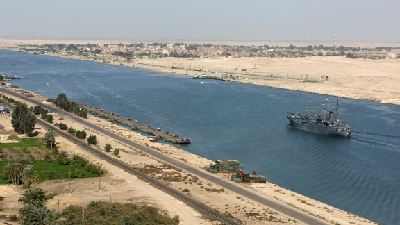 Egypt's $8 billion Suez Canal extension was initially scheduled to take three years, but was completed in one. Three quarters of the world's dredgers and 41,000 workers, operating around the clock, moved half a trillion cubic meters of earth by June this year -- the equivalent of 200 Great Pyramids -- meaning the canal will raise $13 billion annually by 2023 according to government projections.