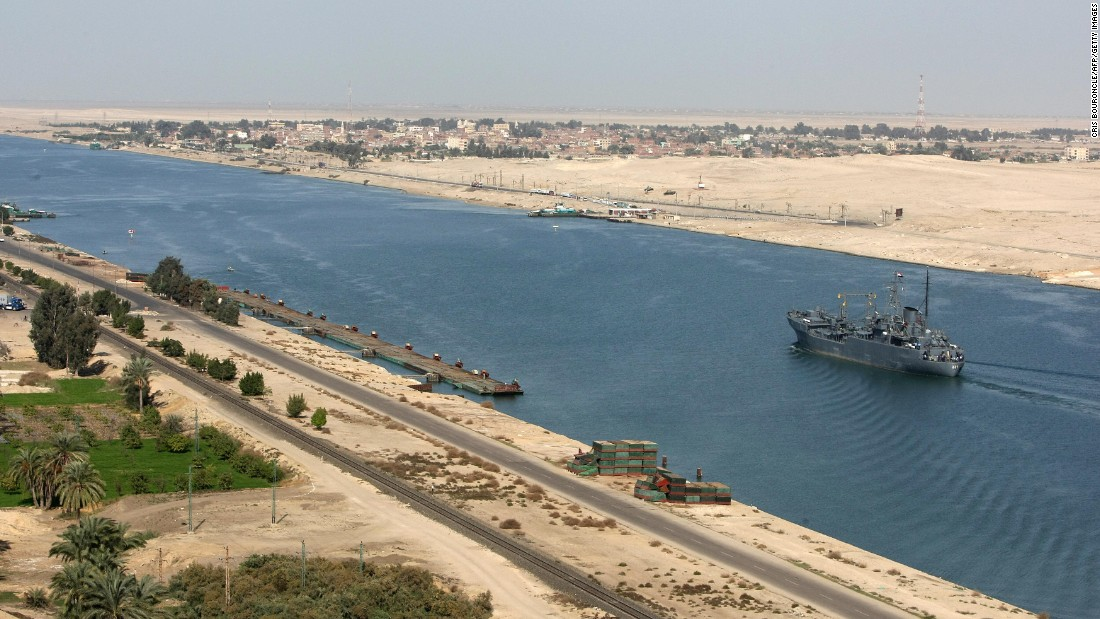 "Egypt's $8 billion Suez Canal extension was initially scheduled to take three years, but was completed in one. Three quarters of the world's dredgers and 41,000 workers, operating around the clock, moved half a trillion cubic meters of earth <a href=""http://edition.cnn.com/2015/06/15/middleeast/egypt-suez-expansion/"" target=""_blank"">by June this year</a> -- the equivalent of 200 Great Pyramids -- meaning the canal will raise $13 billion annually by 2023 according to government projections."