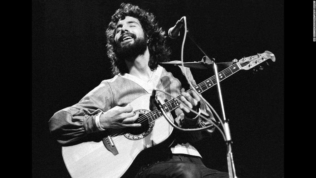 "Folk singer Cat Stevens, who later changed his name to Yusef Islam, had a knack for quiet, catchy songs with messages of peace. Among his notable hits of the era: ""Morning has Broken,"" ""Wild World"" and ""Peace Train,"" an anti-war song that offered optimism instead of protest."