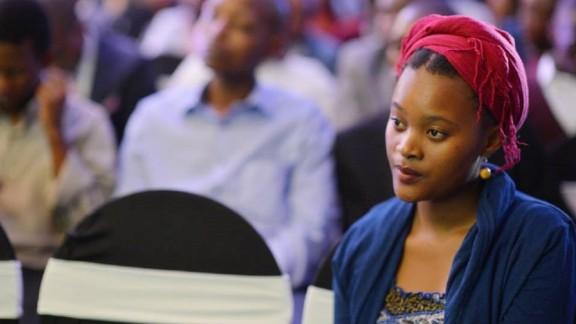Siyanda Moutsiwa, 22, a Botswana-based writer.