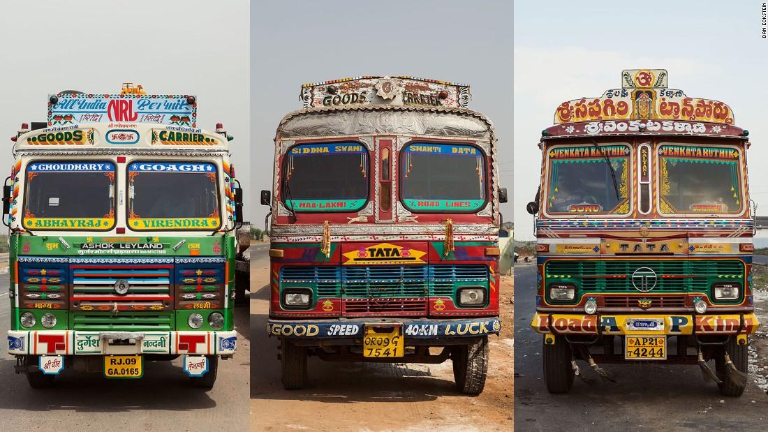 The Indian Truck Art Tradition Inside Indian Truck Art Cnn Travel