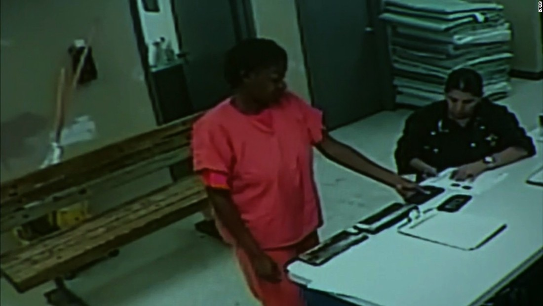 New surveillance video shows Sandra Bland alive in jail