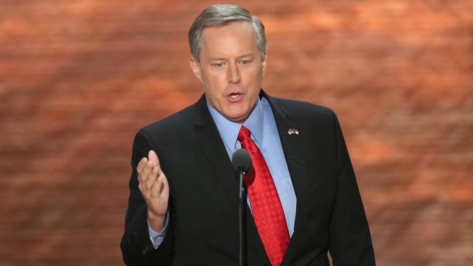 Mark Meadows Freedom Caucus