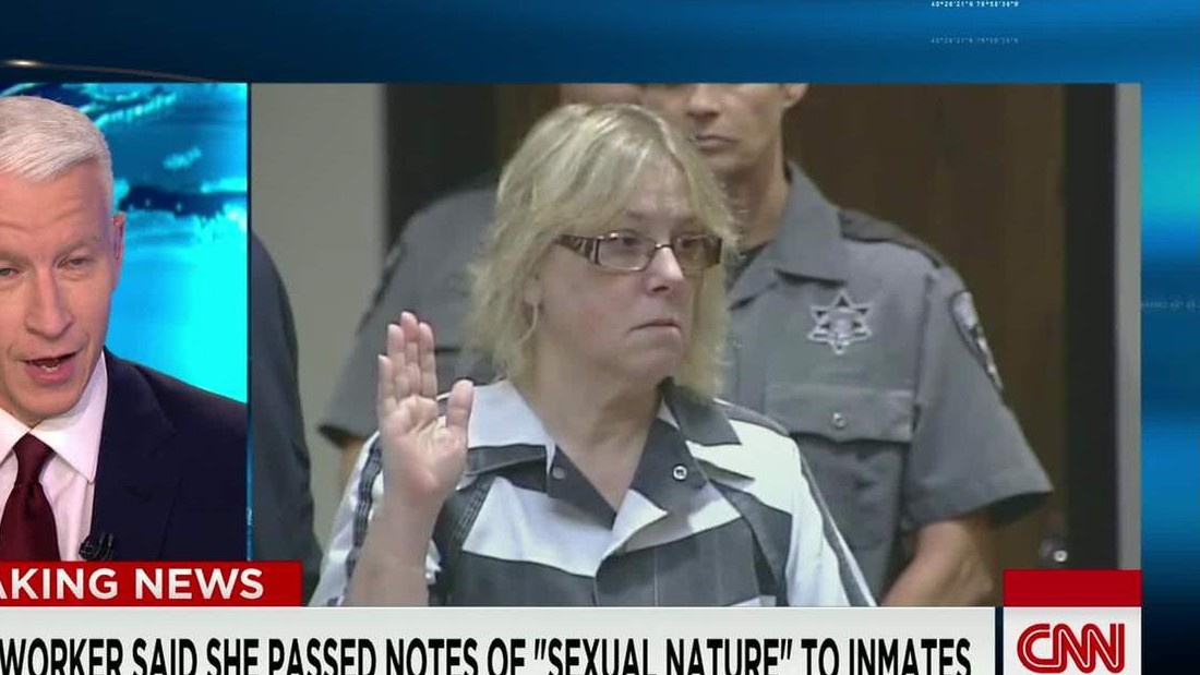 Joyce Mitchell's confession: Sex, a painting and a plan - CNN