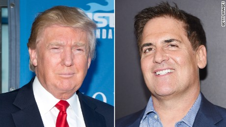 Mark Cuban criticizes Donald Trump over taxes