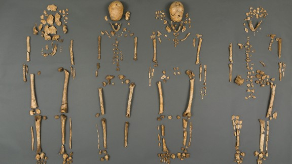 Scientists have uncovered the remains of four leaders of the Jamestown settlement in Virginia, which was the first permanent English settlement in the British New World. Excavators found the first Anglican minister of the settlement, an explorer and relatives of the governor of colonial Virginia beneath the ruins of a historic church.
