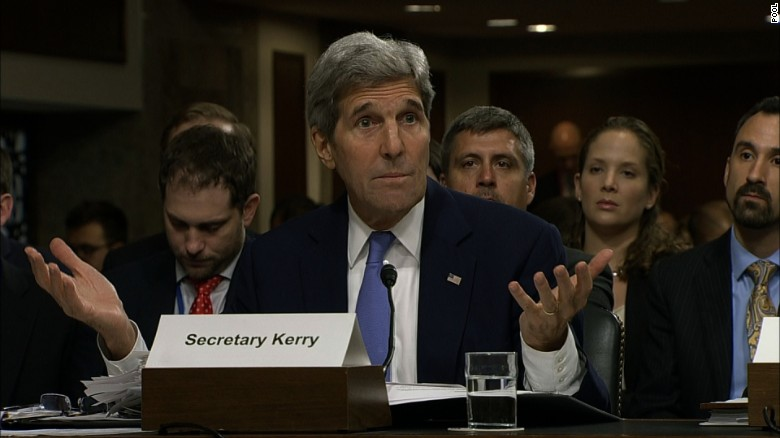 Sparks fly as Kerry sells Iran deal to congress