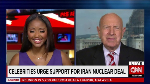 celebrities urge support for iran nuclear deal_00042320.jpg