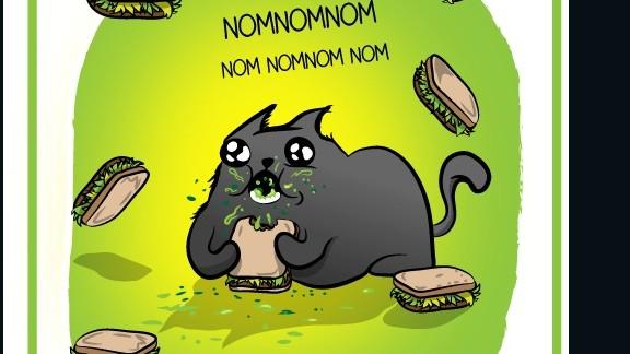 Catnip sandwiches save lives.