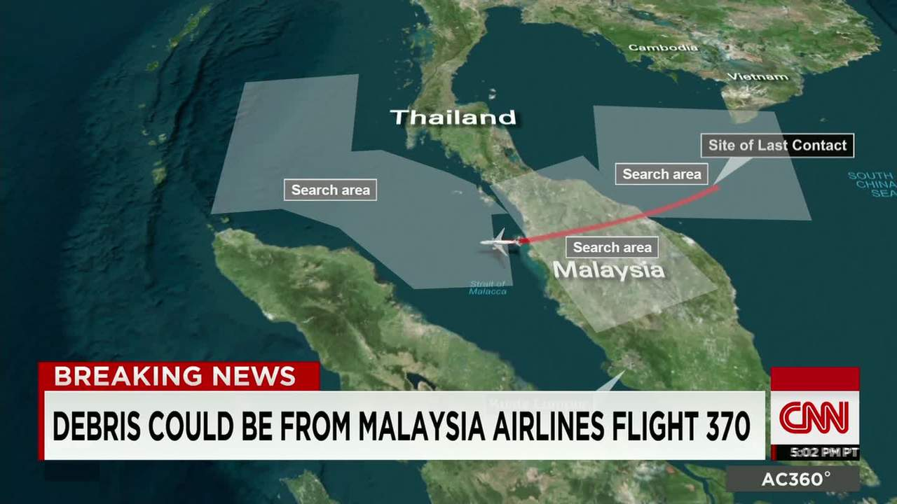 Possible MH370 debris found after nearly 17 month search - CNN Video