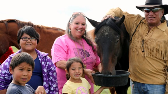 Rochelle Ripley's nonprofit has delivered an estimated $9 million in services and goods to the Lakota people. She and volunteers run a food bank and provide free health services, home renovations and educational opportunities.