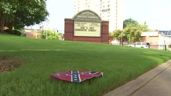 confederate flags found Ebenezer Baptist Church MLK king_00003824.jpg