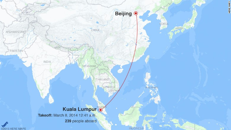 Mh370 maps takeoff disappearance searches cnn the malaysia airlines boeing 777 took off at 1241 am local time heading for beijing in china a total of 239 passengers and crew were on board for the publicscrutiny Images