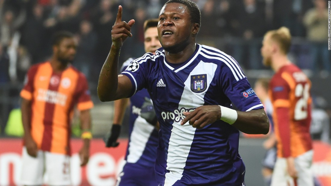 The defender's birth date recorded by Anderlecht is August 8, 1994.