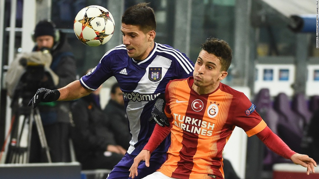 Newcastle has also signed striker Aleksandar Mitrovic (left) from Anderlecht.
