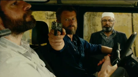 "A scene from ""13 Hours: The Secret Soldiers of Benghazi."""