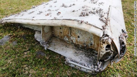 MH370 flaperone found in eastern Africa.
