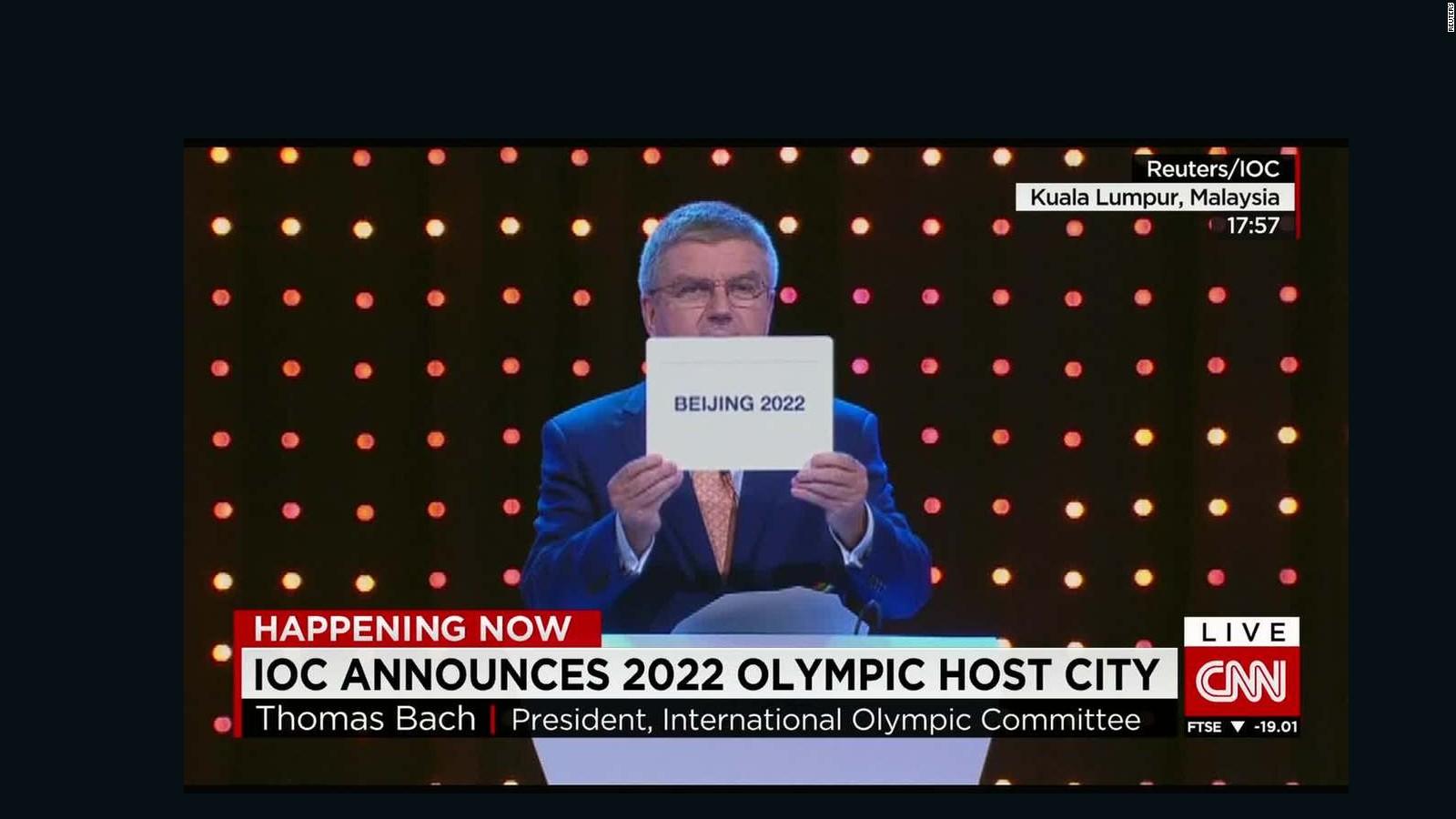 winter olympics 2022 beijing chosen to stage games cnn