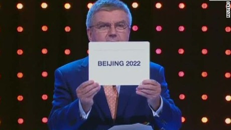 Beijing to host 2022 Winter Olympic Games