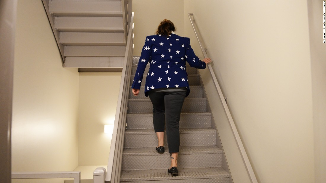 Another no-brainer is to take the stairs instead of the escalator or  elevator if
