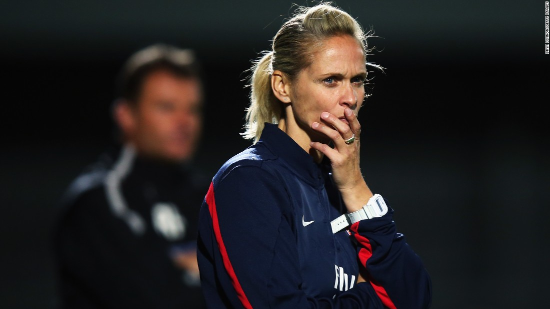 Former Arsenal Ladies Manager Shelley Kerr made history last year by becoming  the first senior female football manager in a British men's league. Kerr is currently coaching Stirling University in the Lowland League, the fifth tier of Scottish football, while completing a Master's degree in sports management.
