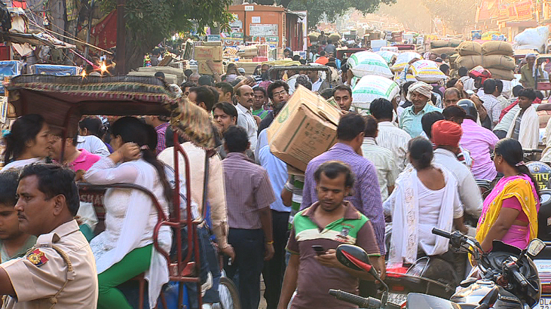 India's booming population