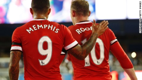 Wayne Rooney and new signing Memphis Depay will be hoping Manchester United can improve on its fourth place finish in the EPL last season.