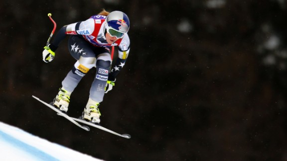 Vonn sustained a broken ankle during a training run in New Zealand three months ago.