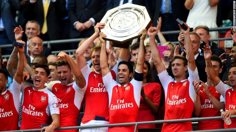 Arsenal Beat Chelsea To Win The Community Shield On Sunday But Has Club