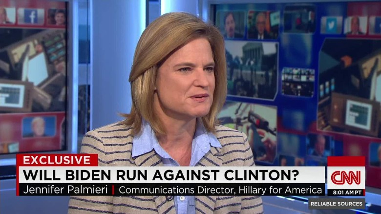 Clinton aide reacts to possibility of Biden bid
