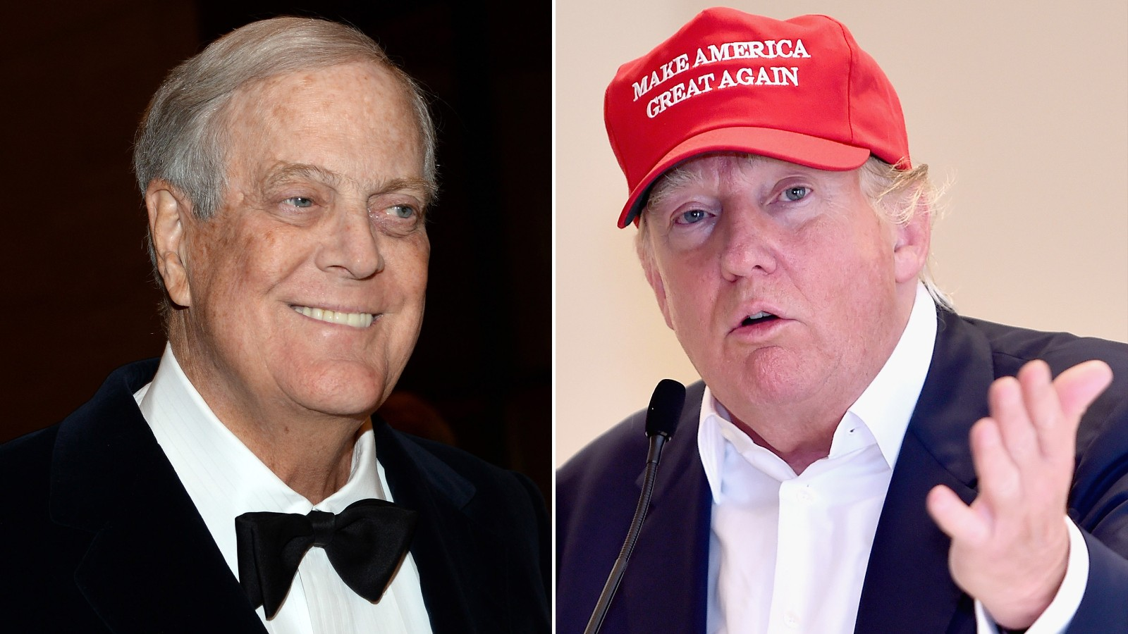 Could koch brothers take out donald trump cnnpolitics for David und charles koch