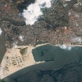 eko atlantic satellite view lagos nigeria