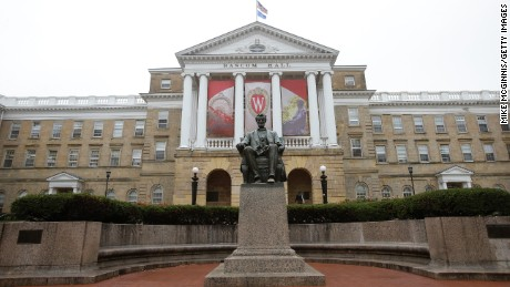 The University of Wisconsin-Madison has quarantined 9 sororities and brotherhoods due to Covid-19