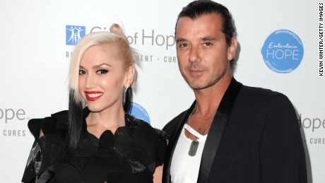 Musician Gavin Rossdale and singer Gwen Stefani have announced their divorce.