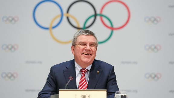"The head of the International Olympic Committee (IOC) Thomas Bach has promised the organization will pursue a policy of ""zero tolerance"" if allegations of widespread doping by track and field athletes at the Olympics are proven."