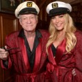 Hugh and Crystal Hefner