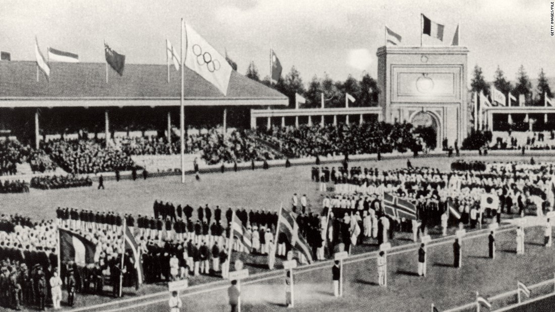 The 1916 Games, due to take place in Berlin, were canceled due to World War One. Germany, Hungary, Austria, Bulgaria and the Ottoman Empire were all banned from the 1920 edition held in Belgium.