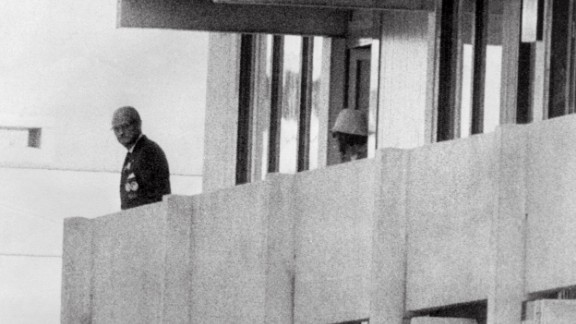 The Games paled into insignificance after members of the Palestinian terrorist group Black September broke into the Olympic Village, killed two Israeli athletes and took nine hostage. Those captured died during a failed rescue attempt by German authorities.