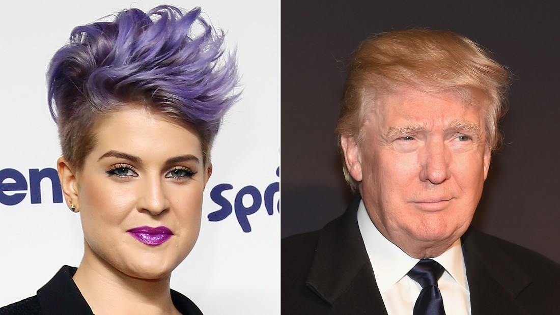 "Kelly Osbourne <a href=""http://www.cnn.com/2015/08/04/politics/kelly-osbourne-donald-trump-latinos/index.html"">tried to call out Donald Trump</a> on ABC's ""The View"" about his comments about Latino immigrants, but her comment was not well received by the show's other co-hosts."