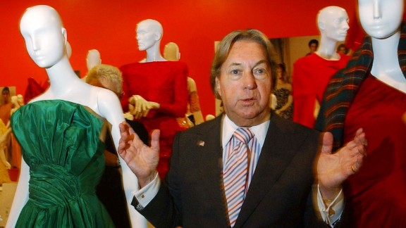 Fashion designer Arnold Scaasi, whose flamboyant creations adorned first ladies, movie stars and socialites, died August 4 of cardiac arrest. He was 85.