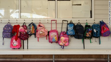 Florida Christian School is selling bulletproof panels that go inside students' backpacks. The head of school security said he has taught teachers how to instruct students to use their backpacks to shield themselves in the event of a school shooting.