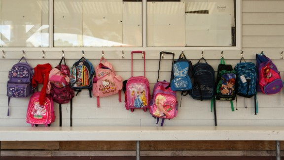 Florida Christian School is selling bulletproof panels that go inside students' backpacks. Head of School Security George Gulla told CNN he has taught teachers how to instruct students to use their backpacks to shield themselves in the event of a school shooting.