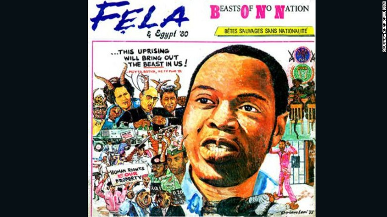 Fela Kuti: The stories behind the cover art - CNN Style