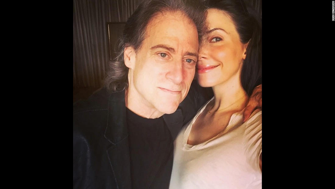 "Whitney Cummings teased a marriage with fellow comedian Richard Lewis on Thursday, July 30. ""Save the date,"" <a href=""https://instagram.com/p/5xeb_REmS6/"" target=""_blank"">she joked on Instagram.</a>"