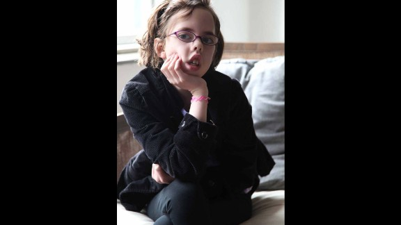 Grace, 12, is living with myotonic dystrophy, an inherited disorder. She loves dogs, riding horses and hanging out with her friends.