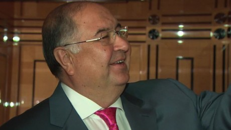 Alisher Usmanov's passion for fencing