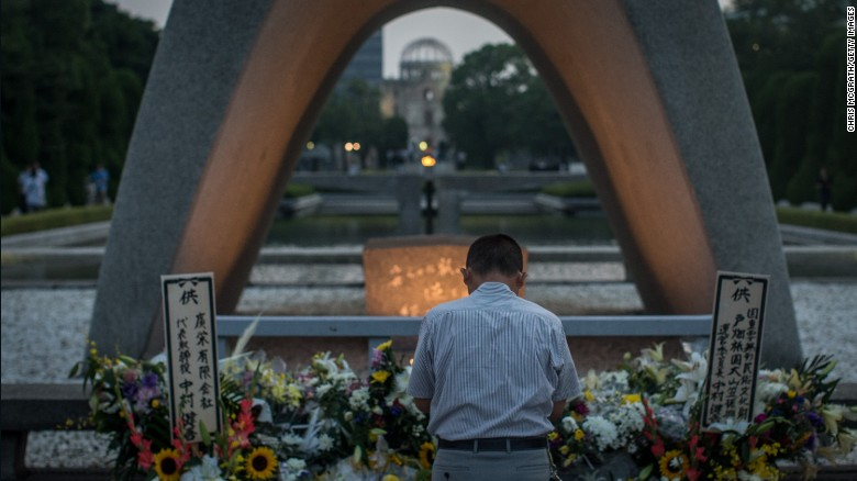 Hiroshima atomic bomb victim shares story of survival