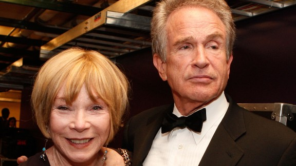 HOLLYWOOD -  Actors Shirley MacLaine and Warren Beatty during the 36th AFI Life Achievement Award tribute to Warren Beatty held at the Kodak Theatre in Hollywood, California.