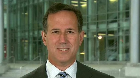 Santorum planned parenthood interview Newday _00000027